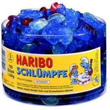 Haribo Schlümpfe / Haribo Smurfs dr1nky.de