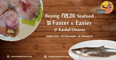 We are now back with fresh #Seafoods only for you at reasonable rates. Now buying #Seafoods are easy just through http://kadalunavu.com/ or call us at 91761 66599 or 91761 66779