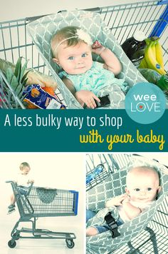 A less bulky way to shop with your baby | Want to get weeLove in your inbox? www.wee.co/weelove