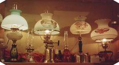 Hurricane lamp shades sometimes called hurricane vases, are glass vessels with tall sides that hold candles, electric lights or other objects. Milk Glass Lamp, Glass Vessel, Hurricane Lamp Shade, Mason Jar Lamp, Vintage Table, Lamp Shades, Chandelier, Table Lamp, Ceiling Lights