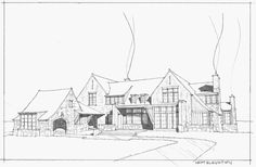 Based in the Chicago area, Michael Abraham Architecture is a full service architecture firm that creates custom residential spaces with a sense of livable elegance. Shingle Style Architecture, Victorian Architecture, Beautiful Architecture, Residential Architecture, Architecture Details, Historical Architecture, Architecture Drawings, Architecture Illustrations, Clarendon Hills
