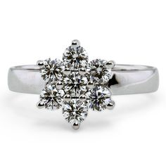 Floral Cluster Ring from Brilliant Earth