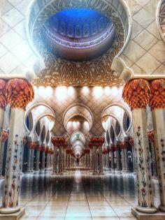 grand mosque, abu dhabi::
