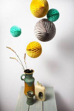 Honeycombs Retro Engel #pompon van: http://www.engelpunt.com/webwinkels/webwinkel-particulier/producten/product-detail/cat/verjaardags-feestje/pr/honeycombs-retro-1/