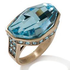 "Heidi Daus ""A Few Good Rocks"" Crystal Ring at HSN.com."