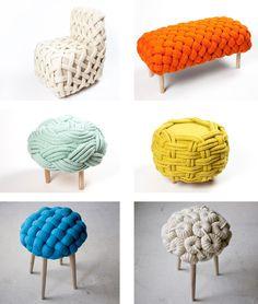 Knitting design.