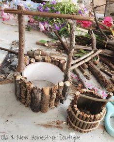 Fairy Garden Doors, Fairy Garden Furniture, Fairy Garden Supplies, Fairy Garden Houses, Gnome Garden, Garden Art, Easy Garden, Diy Fairy Garden, Garden Types