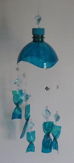 como reciclar botellas de plastico en casa para decoracion