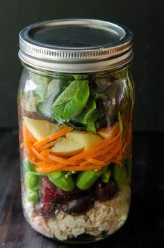 So…Let's Hang Out – Loaded Tuna Salad Mason Jars To-Go + The 21 Day Sugar Detox Recap {Weeks 2 + 3}
