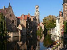 Brugge, Belgium  'Venice of the North'   http://www.hotelnavarra.com/en/info/151/Visit-Bruges.html