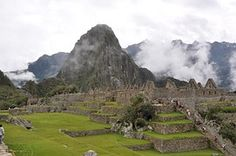 Machu Picchu, Perú, Montaña, Ruinas