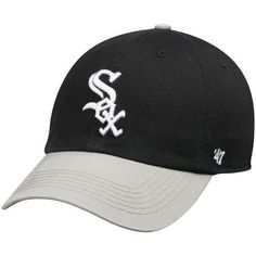 big sale a22eb a35ad Men s Chicago White Sox  47 Black Gray Franchise Batting Practice Fitted Hat