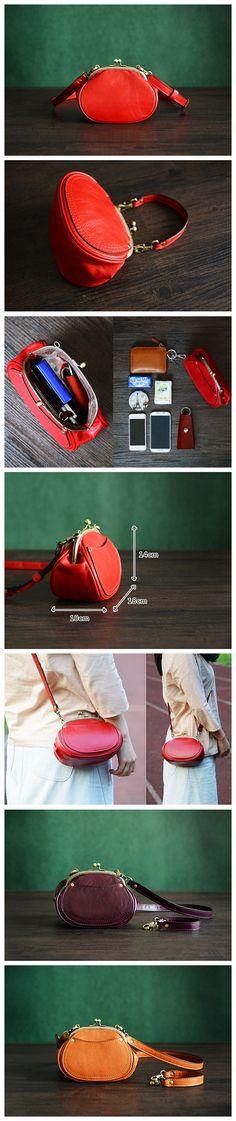 Custom Handmade Itanlian Tanned Leather Satchel Messenger Shoulder Bag Women…
