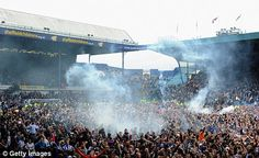 Warzone/Pitch Invasion SWFC vs Wycombe 2011/12. Promotion Day