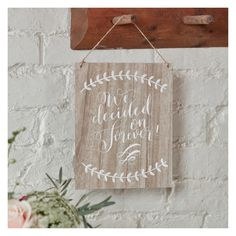 Ginger Ray Boho Wooden Vintage Wedding Boho Plaque Sign Hanging Decoration New Wedding Venue Decorations, Wedding Venues, Wedding Reception, Wedding Ideas, Rustic Wedding, Wedding Stuff, Dream Wedding, Casual Wedding, Wooden Cake Toppers