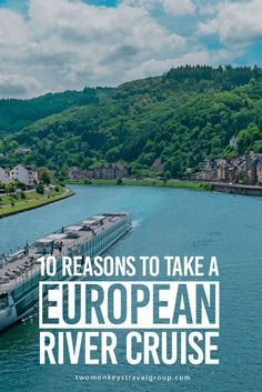 10 Reasons to Take a European River Cruise There are so many ways to travel around Europe and no doubt you've tried some of them already. You can take cheap flights, take the trains or even hire your own car. Why not go on a RIVER CRUISE instead? It is actually a great way to travel, most especially if you are going to travel around Europe for the first time. I'm sure Jonathan would love to take a river cruise with me this year. After all, he LOVES sailing.