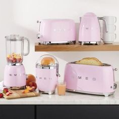 "Newest No Cost smeg kitchen appliances Suggestions The phrase is going, ""The kitchen is usually the guts with the home."" On the other hand, similar to a center, . Smeg Kitchen, Retro Kitchen Appliances, Kitchen Appliance Storage, Kitchen Gadgets, 50s Kitchen, Kitchen Cabinets, Kitchen Stuff, Country Kitchen, Kitchen Island"