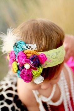 Carnival headband - Cozette Couture
