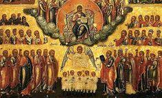 """""""Împreună cu toţi Sfinţii"""", prolog şi epilog la """"Vieţile Sfinţilor"""" de Sf. Iustin Popovici Sf, Moldova, Painting, Painting Art, Paintings, Painted Canvas, Drawings"""