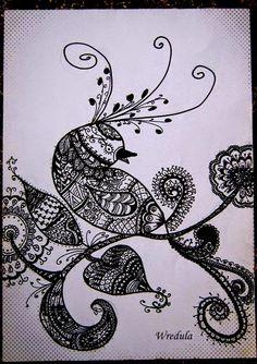 Wredulowe handmade: Zentangle