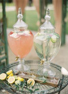 Elegant drink display