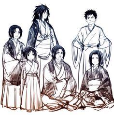 The Uchiha clan is rather amusing, especially when they are humorously stoic.