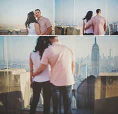 Bonnie + Hanny's Top of the Rock Engagement - Love + Perry Photography