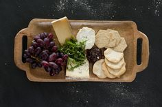 Delicious looking cheeseboard from the deli