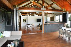 Recycled Australian hardwood decking, flooring, structural beams