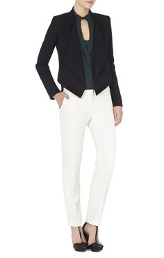 Abbey Cropped Relaxed-Fit Jacket