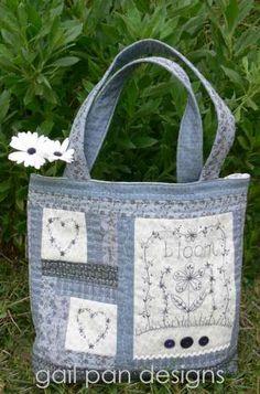 Bloom - by Gail Pan Designs - Bag Pattern