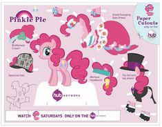 Pinkie Pie Paper Doll