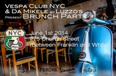 Summer is around the corner! Come join us for the first Vespa Club NYC brunch of the season. This Sunday we're hosting our brunch at Da Mikele Pizzeria in TriBeca. Brunch Menu $30 includes delicious pizze, bruschette , warm focacce, arancini and polpettine (price includes tax and tip). See you there!