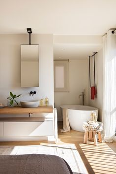 The Mountain Fixer: The Final Kids Bath Design (+ Shopping Links) - Emily Henderson Bathroom Design Inspiration, Bad Inspiration, Bathroom Interior Design, White Bathroom, Modern Bathroom, Fixer Upper House, Cheap Bathroom Remodel, Nautical Bathroom Decor, Bathroom Goals