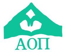 Alpha Omicron Pi Hand Sign Decal