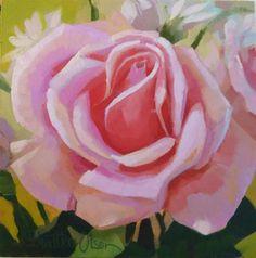 """A Rose for the Children of Africa"" - Original Fine Art for Sale - © Joanna Olson"