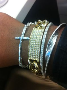 #mix #match your Silpada jewellery with other metals.