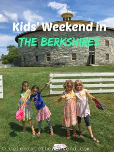 Kids' Weekend in the Berkshires of Western Massachusetts: dance lesson, a couple of concerts, Shaker dress up, movie making and a boat ride!!!
