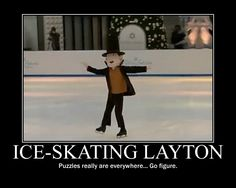 This is so ironic. I just saw a dog on a roller skating rink with a lady. She was basically roller skating and walking her dog at the same time Layton Brothers Mystery Room, Funny Puzzles, Pokemon Plush, True Gentleman, Skating Rink, Roller Skating, Motivational Posters, Animal Crossing, Puns
