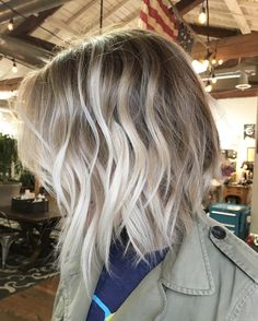 """137 Likes, 6 Comments - Leah Hoffman (@leahhofffhair) on Instagram: """"My best friend has the best hair. Ever. Maggie came in with 5 in of grown out balayage. But she…"""""""