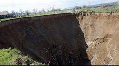 Massive Sinkhole Swallows Homes, Leaves Villagers Terrified In Ukraine