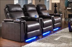 YES!!! Home Theater Seating, Home Theater Furniture, Movie Theater Seats, and Home Theater Decor @Bryan Boyer Martin
