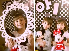 Festa Minnie Mouse Photo Booth