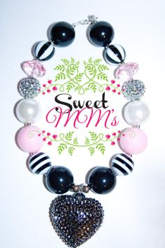 Adorable Chunky Bead Necklaces for Girls