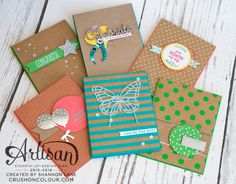 Let the Shine On DSP be the star with these clean and simple cards!  ~Shannon
