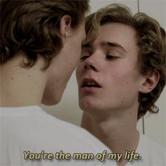 You're the man of my life Evak, Skam Henrik Holm Skam, Gay Lindo, Skam Tumblr, Skam Isak, Isak & Even, Lgbt Love, Cute Gay Couples, Boys Like, Series Movies