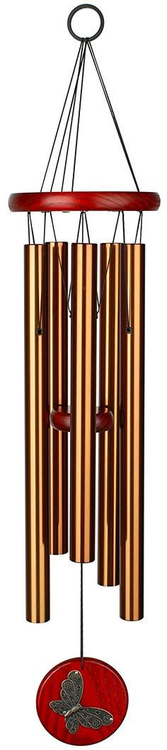 Woodstock Chimes Butterfly Habitats Chime - Bronze ** Find out more at the image link. #GardenStorageandHousing
