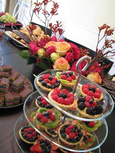 freshly made berry fruit pies by Rolland Glass, via Flickr