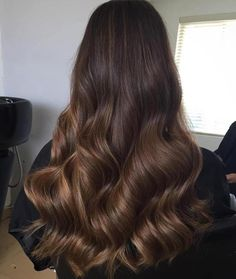 Brown Sombre For Long Hair