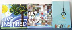 Live Inspired, Live Inspired Book 2 & Bounce 3 Devotional/Journal - Create with joy